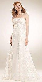 Unique wedding dresses straight gown