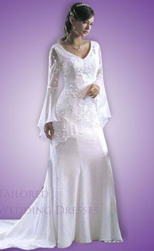 Elegant wedding dresses with sleeves