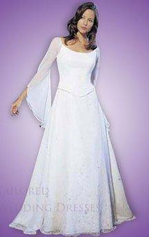 vintage wedding dresses with sleeves