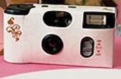 Disposable cameras as a wedding favor