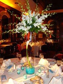 Tall wedding flower centerpieces