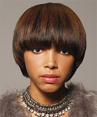 African American short hairstyle for a wedding