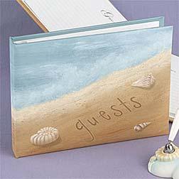 Beach Wedding Ideas guestbook