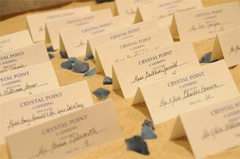 Placecards for a Beach Wedding