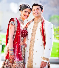 Indian Wedding Dresses Bride and Groom Attire