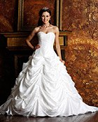 Spring wedding theme gowns