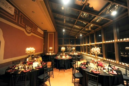 Tuscan wedding reception halls