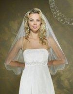 Wedding hairstyles for medium hair with a veil