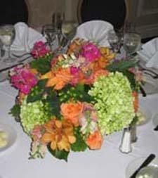 Assortment of wedding flower design ideas