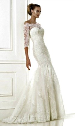 Wedding Dresses With Sleeves Picture