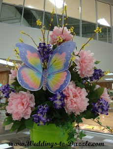 Butterfly Centerpiece for Wedding Planning Checklist